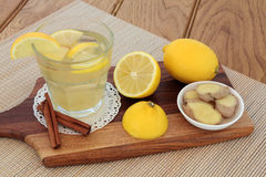 Cold and Flu Soothing  Drink Royalty Free Stock Images