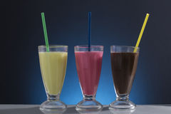 Cold frappe for the hot summer days Royalty Free Stock Photo