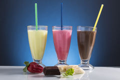 Cold frappe for the hot summer days Royalty Free Stock Photography