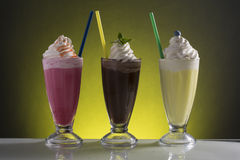 Cold frappe for the hot summer days Stock Image
