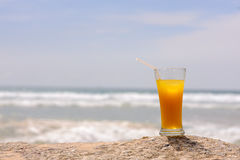 Cold fresh cocktail Royalty Free Stock Images