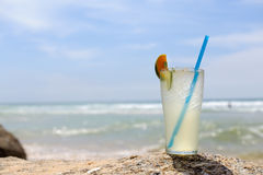 Cold fresh cocktail Stock Image