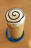 Ice capuchino coffee Stock Photo