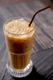 Cold fresh ice coffee Royalty Free Stock Photography