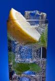 Cold fresh lemonade Royalty Free Stock Image
