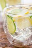 Cold fresh lemonade Stock Photo