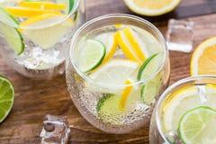 Cold fresh lemonade Stock Images