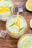 Cold fresh lemonade Royalty Free Stock Images