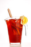 Cold fruit drinks Royalty Free Stock Image