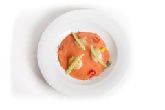 Cold gaspacho soup Stock Image