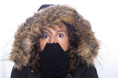 Cold. Royalty Free Stock Photography