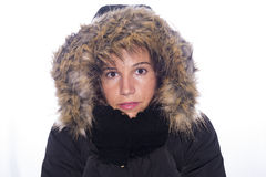 Cold. Royalty Free Stock Photo