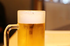Cold glass of beer Royalty Free Stock Image