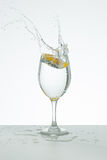 Cold glass of water Stock Photo