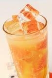 Cold grapefruit juice Stock Images