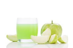 Cold guavas juice Stock Photography