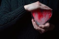 Cold heart Royalty Free Stock Photo