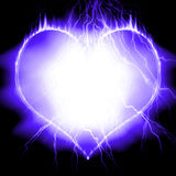Cold heart Stock Photography