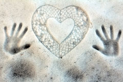 The Cold Heart Royalty Free Stock Photography