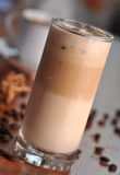 Cold ice coffee with chocolate Royalty Free Stock Photography