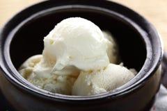 Cold ice cream Stock Photos