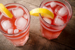 Cold ice tea Royalty Free Stock Images
