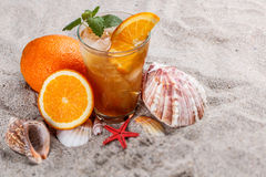 Cold ice tea Royalty Free Stock Photography