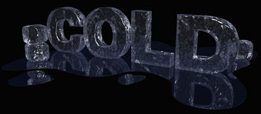 Cold Ice Type Royalty Free Stock Photos