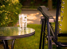 Cold Ice Water in Summer Leisure Royalty Free Stock Photography