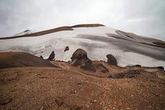 Free Cold Icelandic Landscape - Laugavegur, Iceland Stock Photo - 43193920