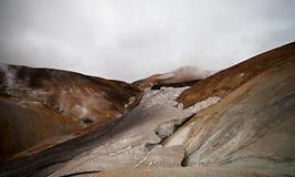 Free Cold Icelandic Landscape - Laugavegur, Iceland Stock Photography - 43193932