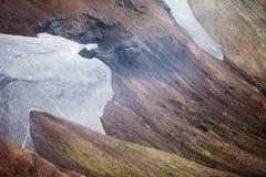 Free Cold Icelandic Landscape - Laugavegur, Iceland Stock Images - 43318534