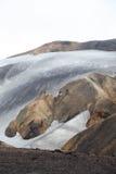 Cold Icelandic Landscape -  Laugavegur, Iceland Stock Image