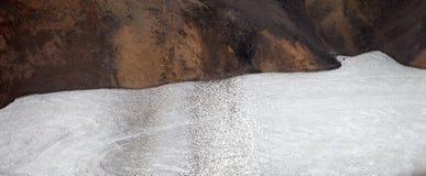 Cold Icelandic Landscape -  Laugavegur, Iceland Royalty Free Stock Photo
