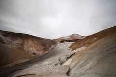 Cold Icelandic Landscape -  Laugavegur, Iceland Stock Photos