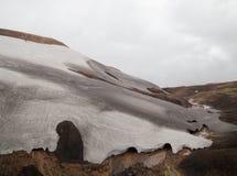 Cold Icelandic Landscape -  Laugavegur, Iceland Stock Images