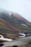 Cold Icelandic Landscape -  Laugavegur, Iceland Royalty Free Stock Images