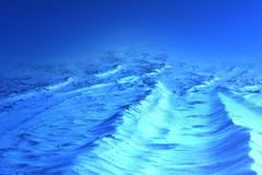 Cold alien world background. Cold icy alien world background stock images