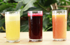 Cold Juices Stock Images