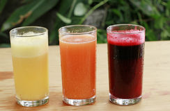 Cold Juices Stock Photo
