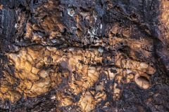 Cold lava Stock Photo