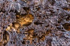Cold lava Stock Image