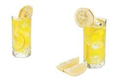 Cold Lemon Juice Stock Photography