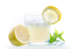 Cold Lemon juice Royalty Free Stock Photos