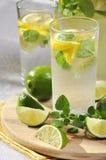 Cold lemonade Stock Image