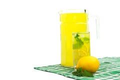 Cold lemonade Stock Images