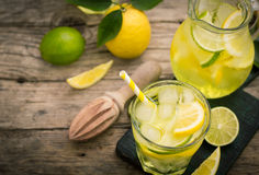 Cold lemonade Royalty Free Stock Photos