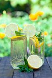 Cold lemonade Royalty Free Stock Images