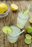 Cold lime drinks Stock Image