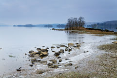 Cold loch Royalty Free Stock Image